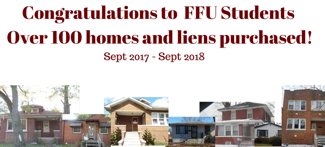 FFU Students 100 tax liens purchased